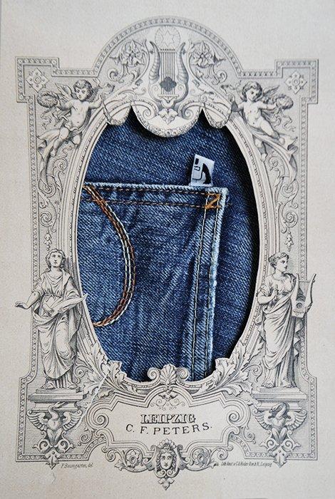 Jeans historical frame