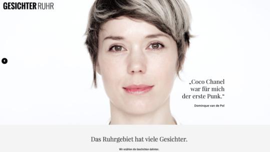 Gesichter-Ruhr Screenshot