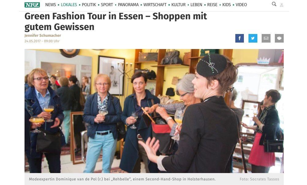 NRZ green fashion tours